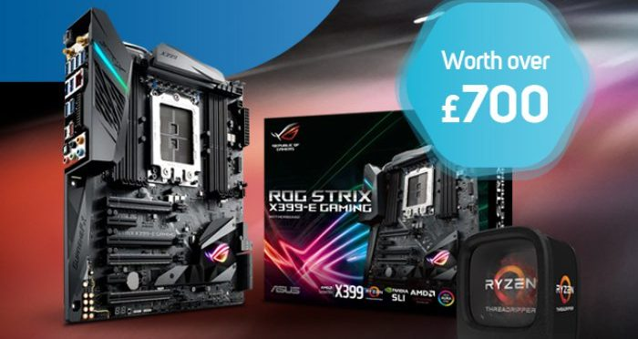 AMD Threadripper CPU & Asus X399-E motherboard Giveaway