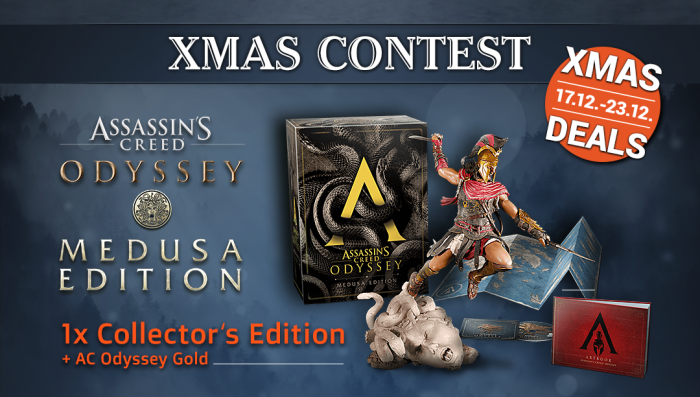 Assassin S Creed Odyssey Medusa Collector S Edition Giveaway